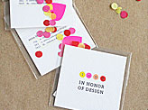 Sweet Interactive DIY Business Cards