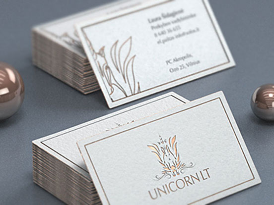 Unicorn LT Business Cards