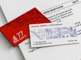 77 Sails Business Cards