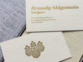 Brandy Shigemoto Business Cards