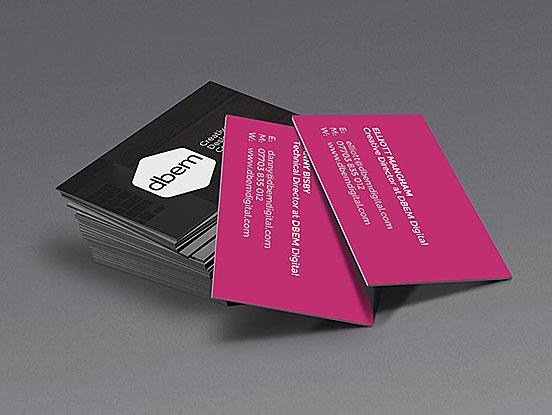 Elliott Mangham Business Cards