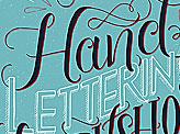 Hand Lettering Workshop Poster