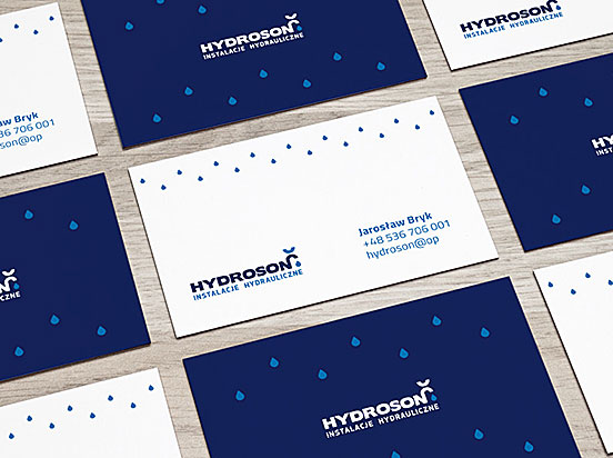Hydroson Business Cards