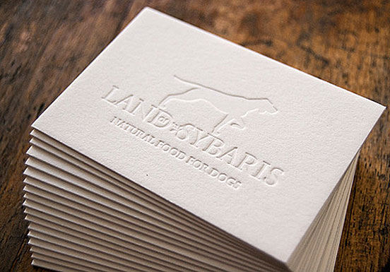 Land Sybaris Business Cards