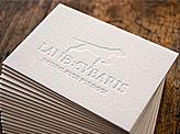 Land Sybaris Business Cards