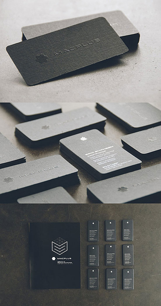 MacPlus Business Cards