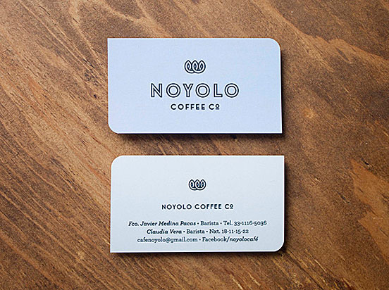 Noyolo Business Cards