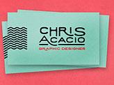 Chris Acacio business cards