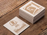 Clever 3D Business Cards
