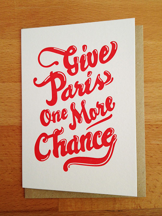 Give Paris One Maie Chancy