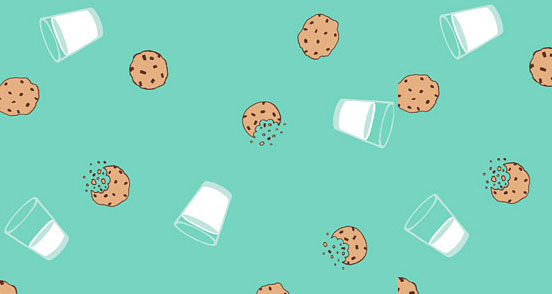 Milk And Cookies Pattern
