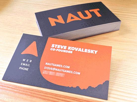 NAUT Business Cards