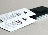 Sophisticated Black Business Cards