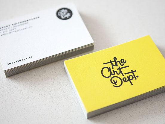 The Art Dept Business Cards