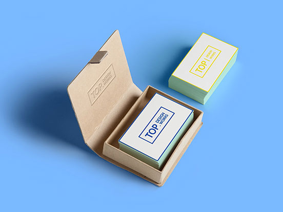 Top Design work business cards
