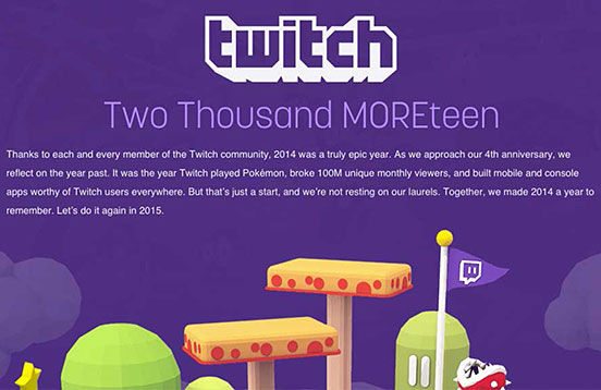 Twitch 2014 in Review