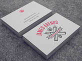 James Arends Business Cards