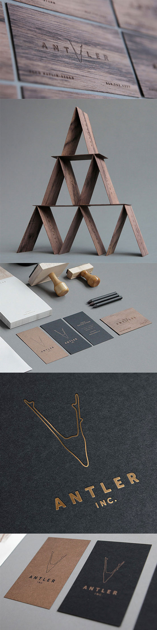 Premium Laser Cut Wooden Business Cards