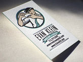 Vintage Styled Edge Business Cards