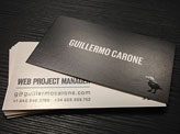 Web Project Manager Business Card