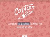 Captain Icon Web