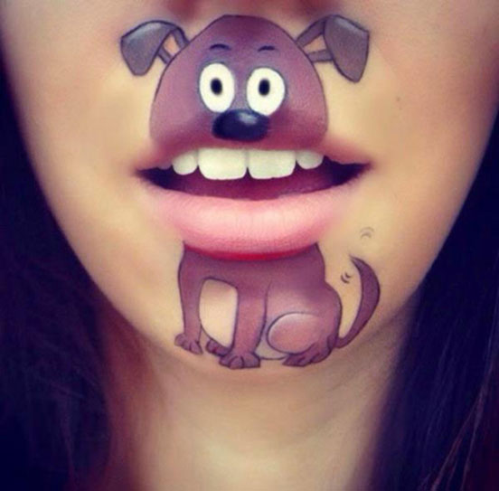 Creative Lip Art Ideas