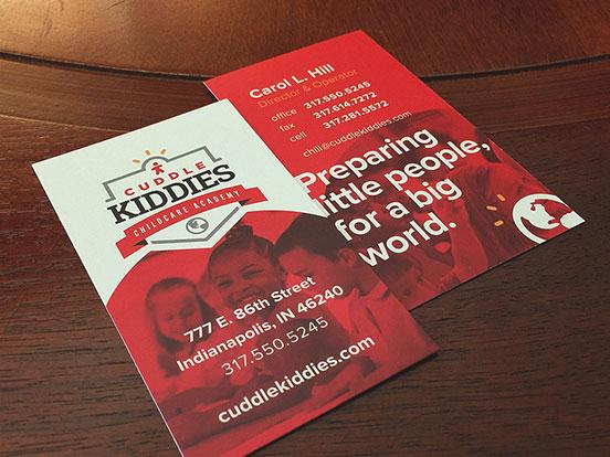 Cuddle Kiddies Business Cards