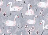 Feminine Swan Pattern