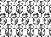 Flower Arches Pattern