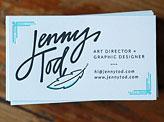 Jenny Tod Business Cards