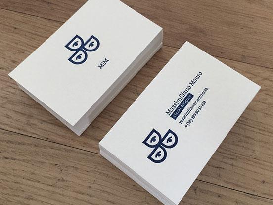 Massimiliano Mauro Business Cards