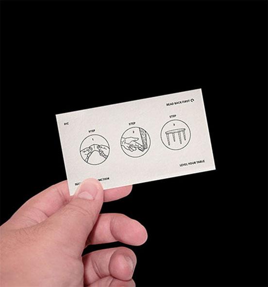 Shao Long Bald Business Card