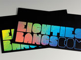 Styled 80s Business Card