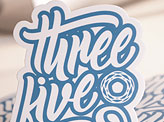 Three Five Two Stickers