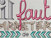 Typography Calligraphy