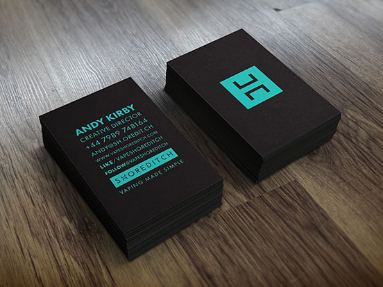 Vape Shored Business Cards