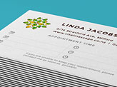 Vital Massage Business Cards