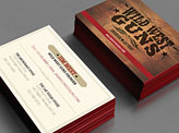 Wild West Guns Business Cards