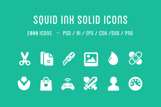 Solid Glyph Icons