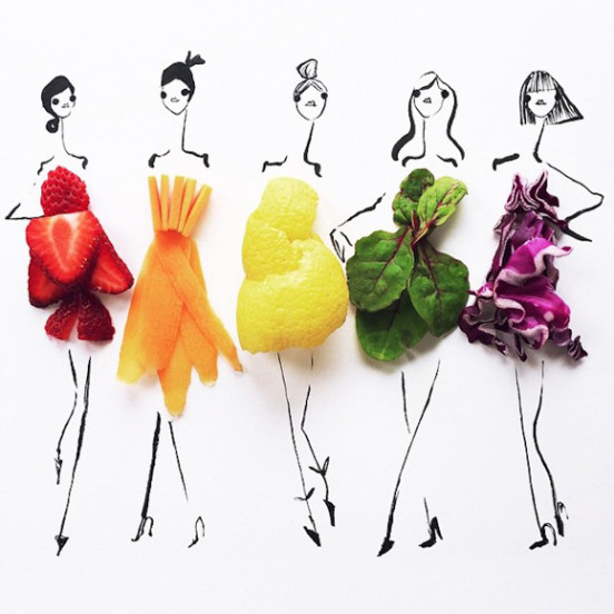 Artist_Gretchen_Roehrs_Finishes_Her_Fashion_Illustrations_with_a_Variety_of_Fruit_and_Vegetables_2015_01