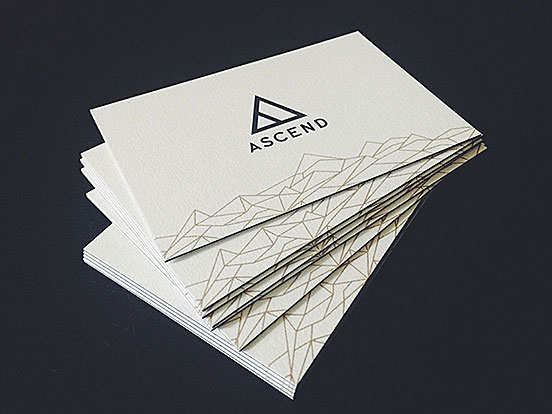 Ascend Business Cards