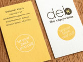 Deb the Copywriter Business Card