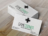 Game Corner Business Card
