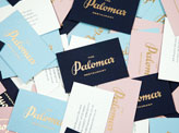 Gold Foil On A Business Card