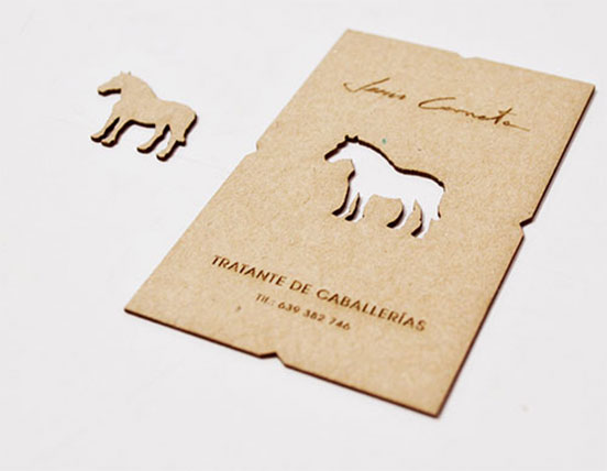 Horse Dealer Business Card