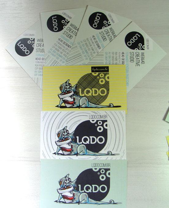 Lqdo Business Cards