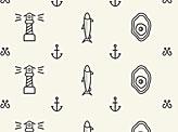 Seafood Restaurant Pattern