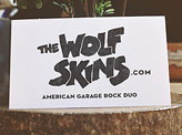 Wolf Skins Business Card