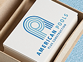 American Pools Business Card