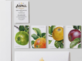 Beautiful Botanic Illustration Business Cards